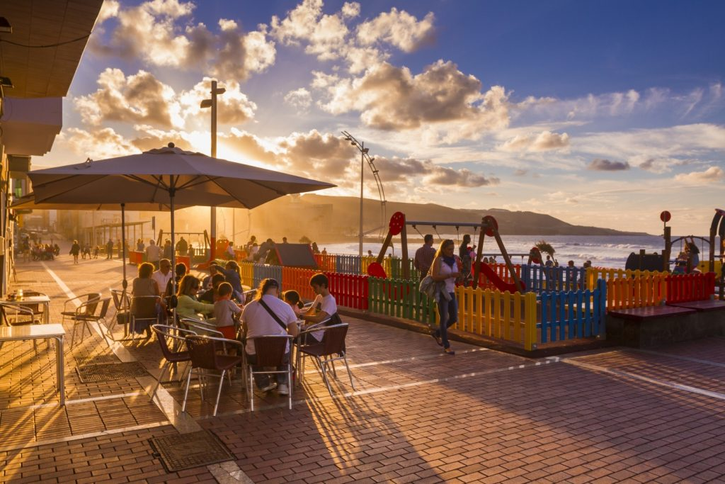 La Cicer beachfront in Las Palmas de Gran Canaria