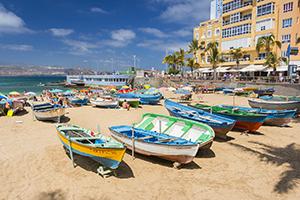 La Isleta's beachfront