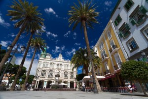 Traina district in Las Palmas city