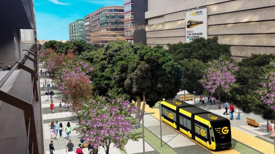 Mesa y Lopez street in Las Palmas de Gran Canaria will be pedestrian in 2019