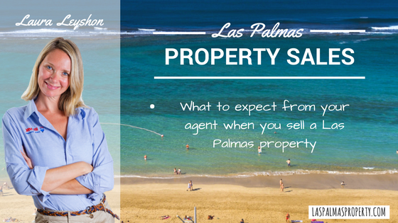 What to expect from your Las Palmas estate agent when you sell a property