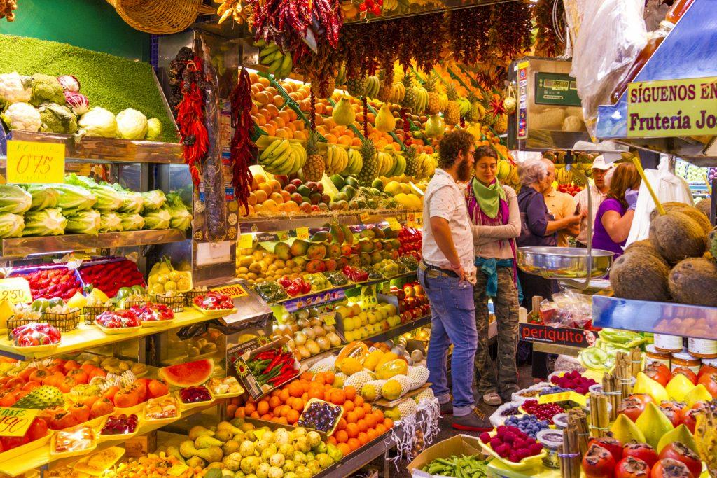 Where to go food shopping in Las Palmas de Gran Canaria