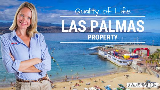 Las Palmas de Gran Canaria city offers world-leading Quality of Life