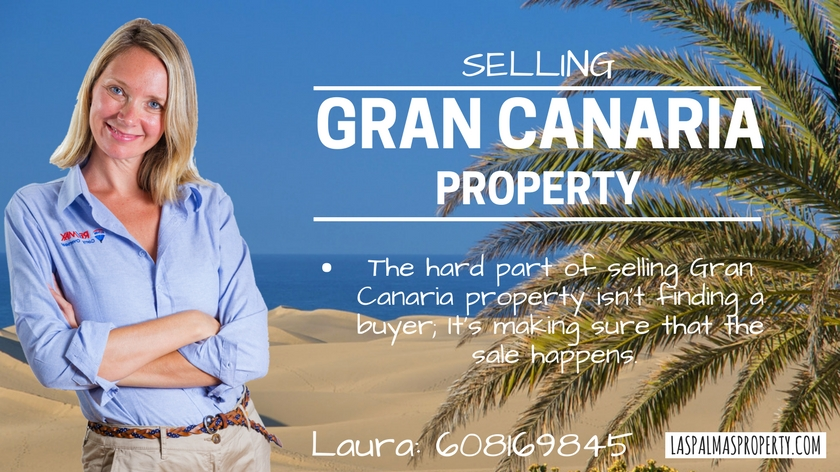 Las Palmas Property: Making sure the sale goes through