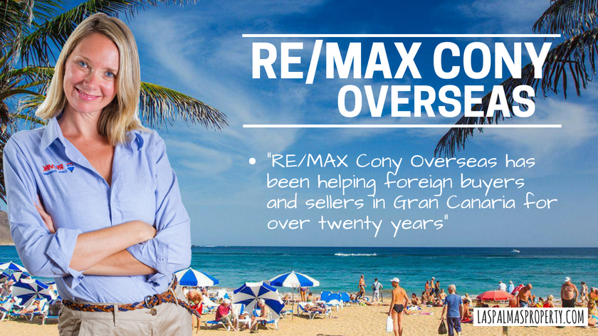 RE/MAX Cony Overseas: Helping foreign buyers and sellers in Gran Canaria for over twenty years