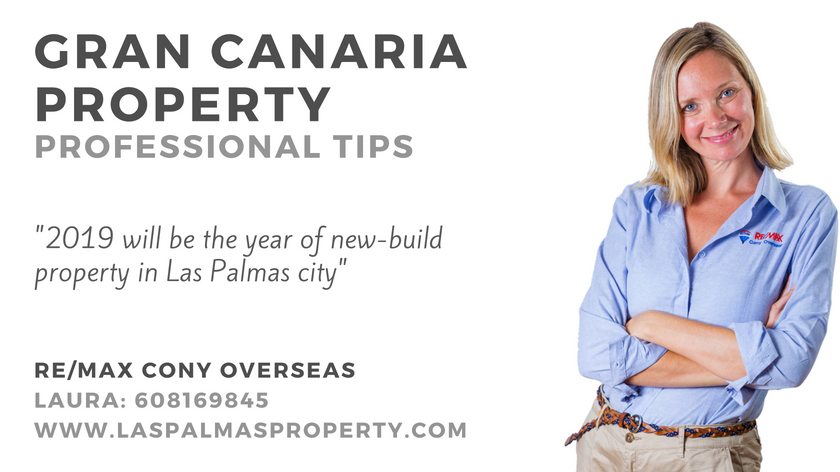 2019 will be the year when a large selection of new build property comes onto the Las Palmas market