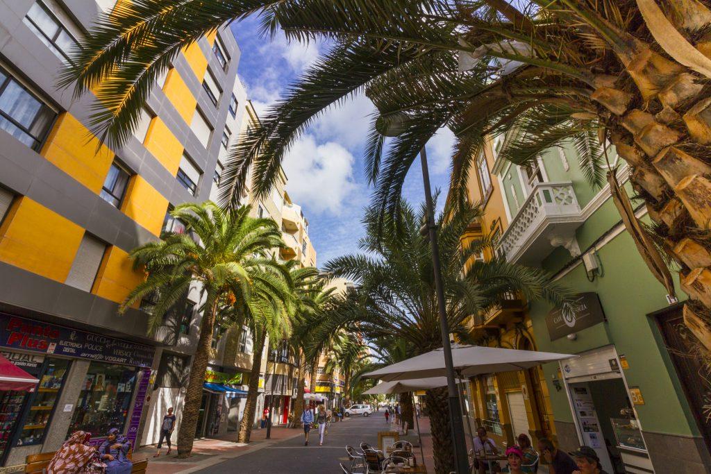 Luis Morote street in Las Palmas will soon be completely pedestrian