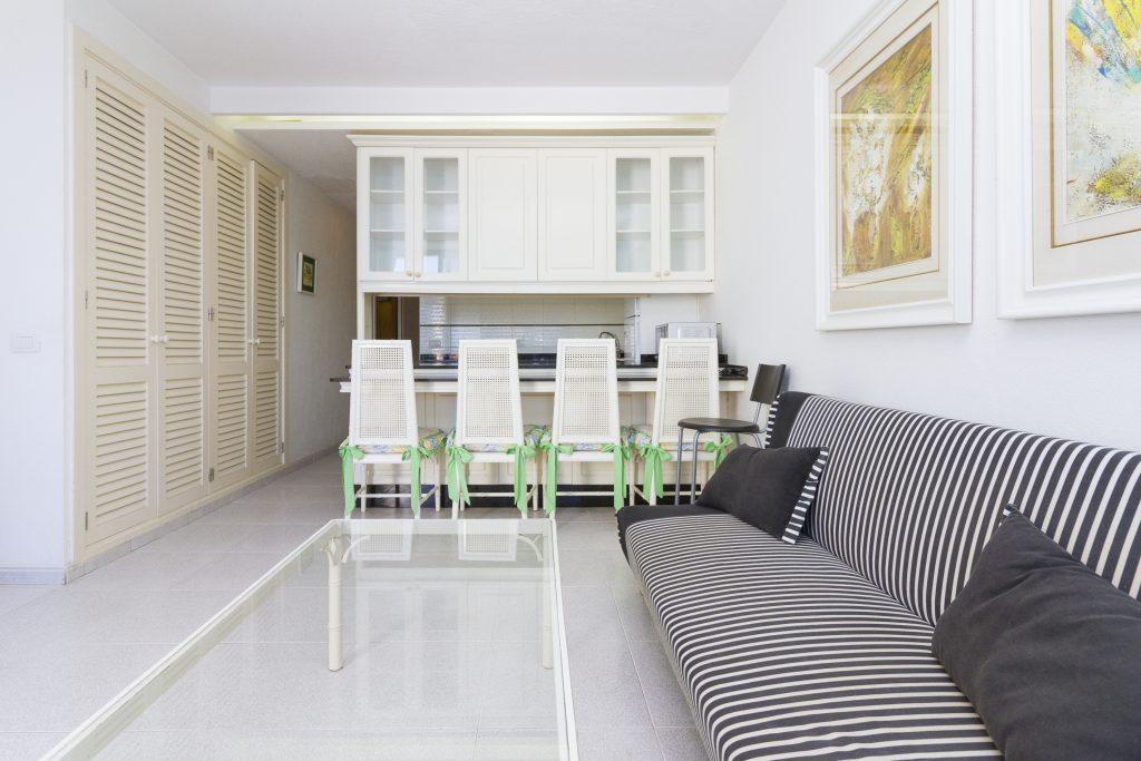 Excellent value Las Canteras beachfront apartment for sale