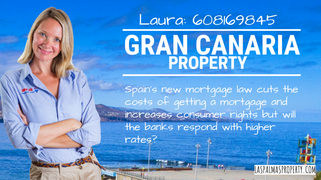 A new Spanish mortgage law comes into force on Monday 17 June 2019 and brings Spanish rules into line with EU consumer protection regulations. But will the banks respond with an increase to mortgage rates?