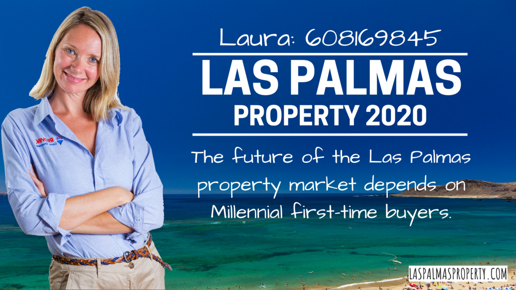 Laura Leyshon, Las Palmas estate agent, explains why the future of the market depends on the Millennial first-time buyer