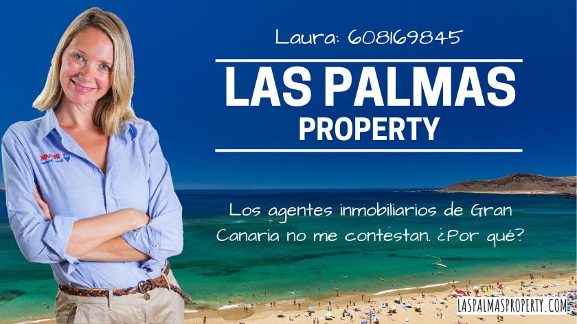 Los agentes inmobiliarios de Gran Canaria no me contestan. ¿Por qué?
